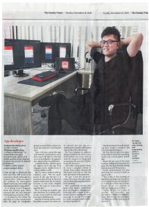 Straits Times, 15th Nov 2015